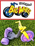 The Original Big Wheel Trike 16'' Gray & Purple with Pink Decals