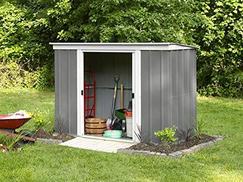 Arrow metal de dispositivo Casa PT 84 Jardín Casa Caseta 2,74 m² gris