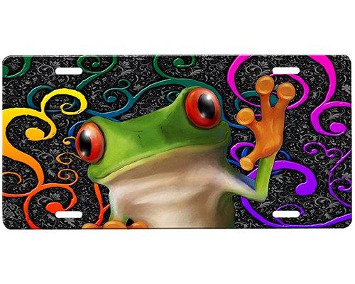 - Frog License Plate