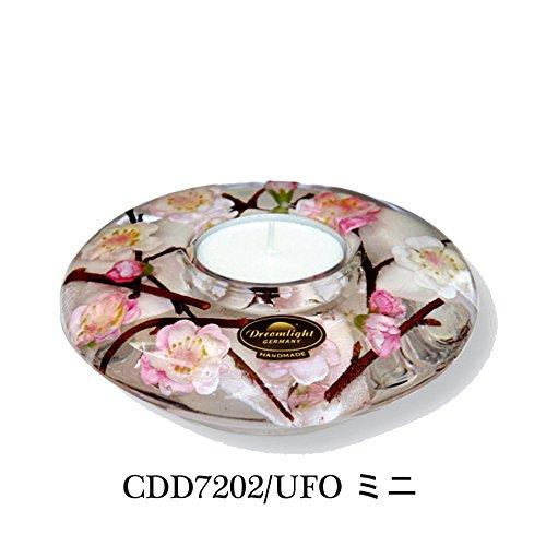 DREAMLIGHT Candle Holder Sakura Handmade Cherry Blossoms Flower CDD7202 UFO Mini