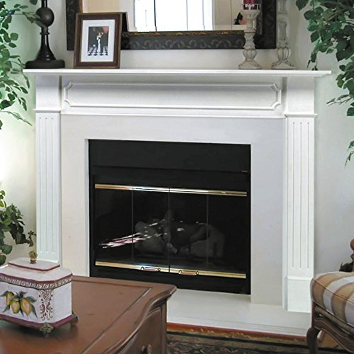 Fireplace Surrounds Mantels (Pearl Mantels 520-48 Berkley Paint Grade Fireplace Mantel, Interior Opening 48-inch Wide by 42-inch)