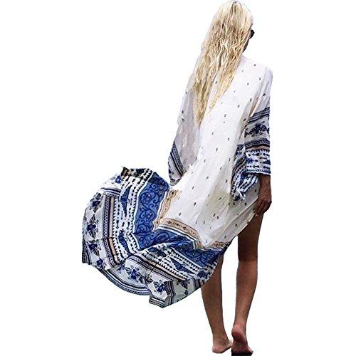 ZHANGYONG*Cardigan veste natation piscine mer plage smock Yi écran solaire maillot de bain extra-long été sol