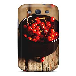 High-end Case Cover Protector For Galaxy S3(rowan Berries)