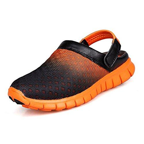 Ahueca Fuera De Zapatillas Del Respirable Las Sandalias Unisex Saguaro® La Hacia Red Naranja Playa Acoplamiento waqPzWgEF