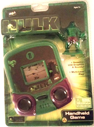 Mga Entertainment Game Handheld - The Incredible Hulk The Motion Picture Handheld Game