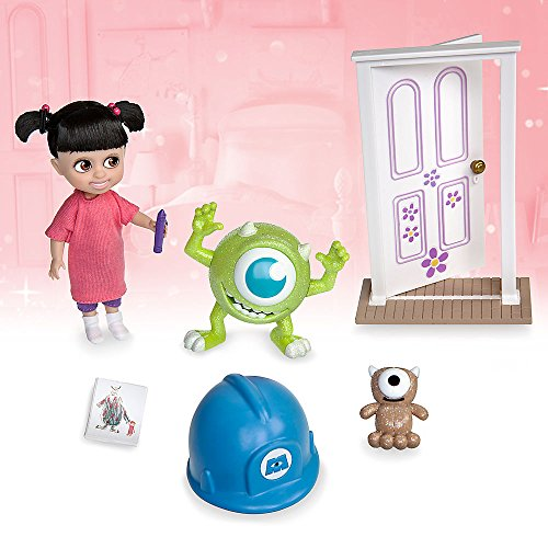 Monsters Inc Boo Costume Disney (Disney Animators' Collection Boo Mini Doll Play Set - Monsters, Inc. - 5 Inch)