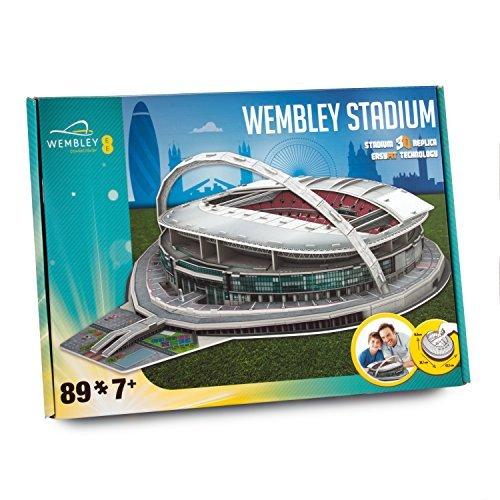 Paul Lamond Wembley 3D Stadium Puzzle by Paul Lamond Nanostad
