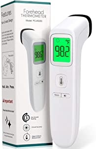 Forehead Thermometer for Fever, Digital Infrared Thermometer for Baby