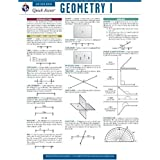 Geometry 1 - REA's Quick Access Reference Chart (Quick Access Reference Charts)