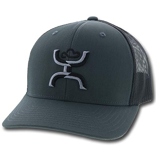 HOOey Men's Sterling Logo Ball Cap Grey One Size