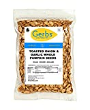 Cheap Toasted Onion & Garlic Whole Pumpkin Seeds, 4 LBS by Gerbs – Top 12 Food Allergy Free & Non GMO – Vegan & Kosher Certified – Dry Roasted Seasoned In-Shell Pepitas from United States