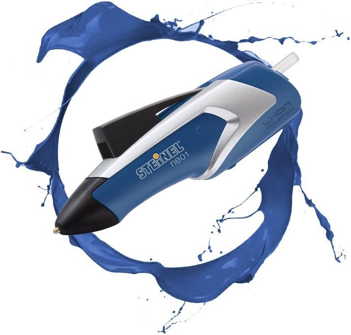 Hei/ßklebe-Pistole kabellos 3.6 V Akku Steinel Akku-Hei/ßklebestift Neo1 blau Aufheizzeit 15 Sek 3 Klebesticks 7mm