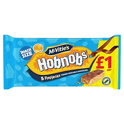 de McVitie Hobnobs 5 panqueques rematado con 131.8g chocolate con leche (paquete de 10