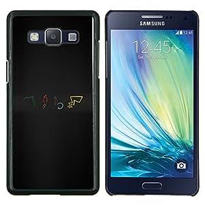 LECELL--Funda protectora / Cubierta / Piel For Samsung Galaxy A5 A5000 -- Pokemns --