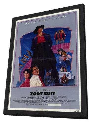 Zoot Suit 11 x 17 Movie Poster - Style A - in Deluxe Wood (Deluxe Zoot Suit)