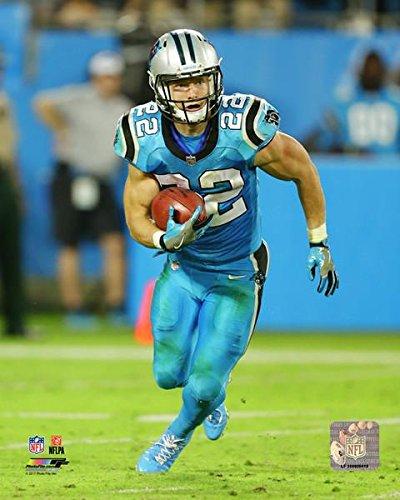 Christian McCaffrey Carolina Panthers 2017 Action Photo (11'' x 14'') by Photo File