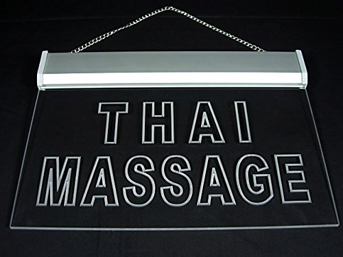 Thai Massage Shop Led Light Sign by Fatianst