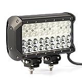 (US) Kohree 108W Cree LED Spot/Flood Work Light Bar for Off-road Truck Car ATV SUV Jeep Lamp Combo beams