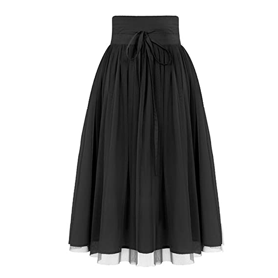 Steampunk Kids Costumes | Girl, Boy, Baby, Toddler YUNSHANG Bowknot Tulle Layered A-Line Pleated Skirt For Girls $10.39 AT vintagedancer.com