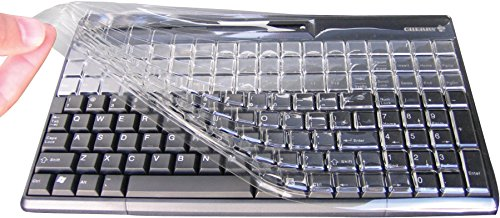 CHERRY Cherry Kbcv-1800W Plastic Keyboard Cover For