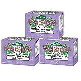 3 PACK Tadin Tea, Pasiflora - Passion Flower Tea, 72 Tea Bags - Relax...