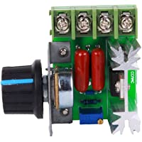 PWM Controlador de Velocidad del Motor de CA 50-220 V 25A Controlador de Velocidad del Motor Ajustable Regulador de Voltaje 2000W Controlador de Velocidad del Motor de CA