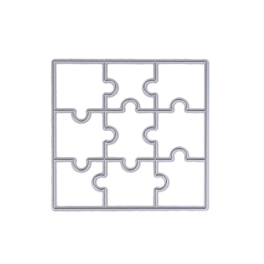 dairyshop Puzzle DIY plantilla para troqueles de corte de metal ...