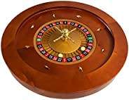 Yuanhe Deluxe Wooden Roulette Wheel ¡(18Inch/20Inch)