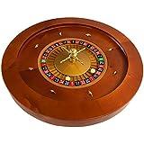 YH Poker Yuanhe 20Inch Deluxe Wooden Roulette Wheel