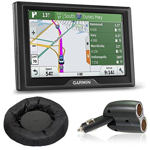 Garmin Drive 50LMT GPS Navigator (US Only) Charger + Dash Mount Bundle includes Garmin Drive 50LMT, UGC-102-BL Dual 12V Car GPS Charger and Nav-Mat Portable GPS Dash Mount