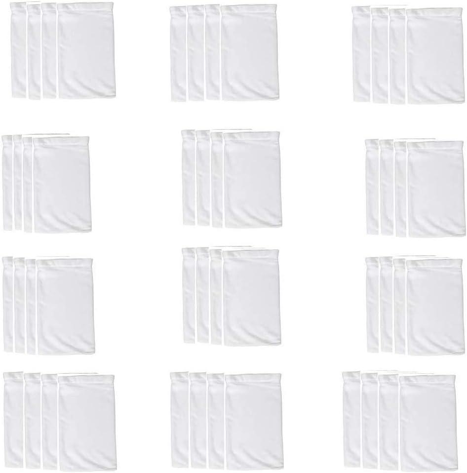 Nrpfell 40 Pi/èCes S/éRies Les Chaussettes de Skimmer de Piscine /éConomiseurs de Filtre de Piscine Chaussettes pour Filtres Skimmers Nettoie Les D/éBris