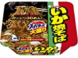 Acecook Ika Big Noodle, Instant Source Yakisoba with Squid, Pack of 12