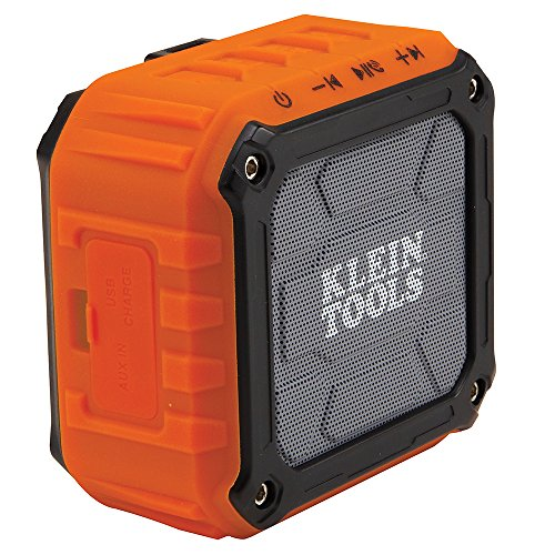Wireless Speaker, Portable Speaker Plays Audio and Answers Calls Hands Free Klein Tools AEPJS1 ()