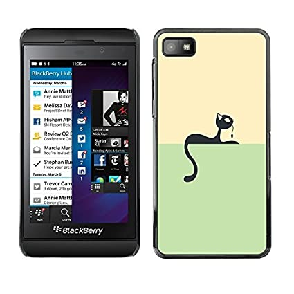 GagaDesign Phone Accessories: Hard Case Cover For Blackberry Z10    Minimalist Cat U0026amp; Mouse