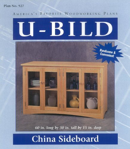 U-Bild 927 China Sideboard Project Plan