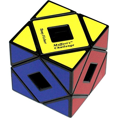 d66d095e4c00 Meffert's Holey Skewb Cube - Black Body (difficulty 6 of 10)