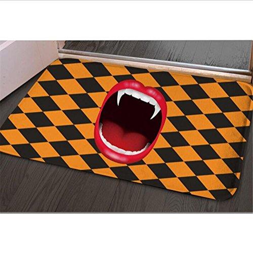 DHXY Area Rugs Flannel mattress rectangular home door mat 40 59cm , 002 , 4059cm