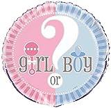 """18"""" Foil Gender Reveal Balloon"""