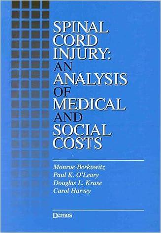 Libros Descargar Gratis Spinal Cord Injury: An Analysis Of Medical And Social Costs De PDF A Epub