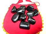 Black Obsidian Tumbled Stone 100 Grams Attractive