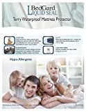 BedGard Liquid Seal Terry Mattress Pad Protector - King