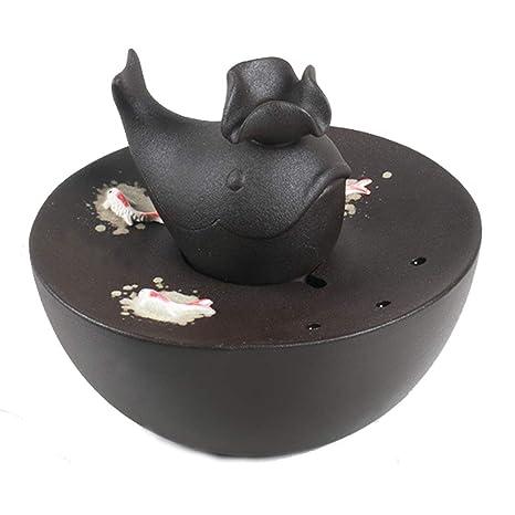 CWYSJ Fuente para Mascotas Silenciosa Eléctrico Bebedero para Gatos, Perros (Color : Negro)