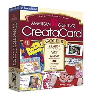Amazon american greetings creatacard gold 8 old version american greetings creatacard gold 8 old version m4hsunfo