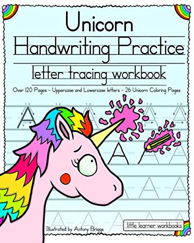 Easy Halloween Recipes For Preschoolers (Unicorn Handwriting Practice: Letter Tracing Workbook (Little Learner)