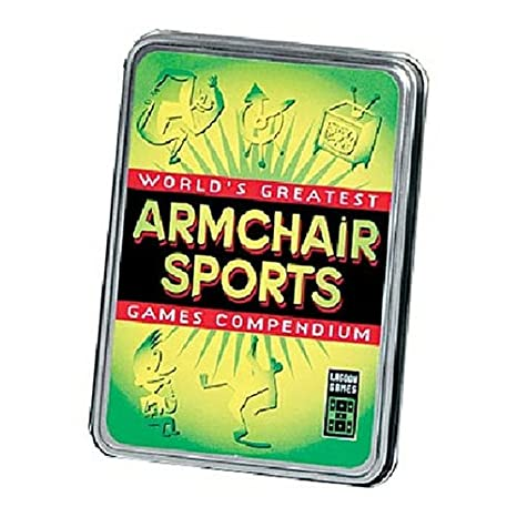 Amazon Com Lagoon Games Armchair Sports Card Pack Toys Games