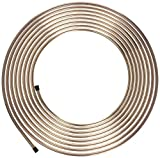 "Nickel/Copper Brake/Fuel/Transmission Line Tubing Coil, 5/16"" x 25'"