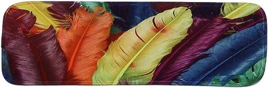 QINJLI Alfombras Escalones De Escalera Antideslizante Respaldo Goma Duradero Reducción Ruido Protector Piso Decoración del Hogar Pasillo Cocina Área Moquetas 22×70cm (Size : 6 Pack): Amazon.es: Hogar