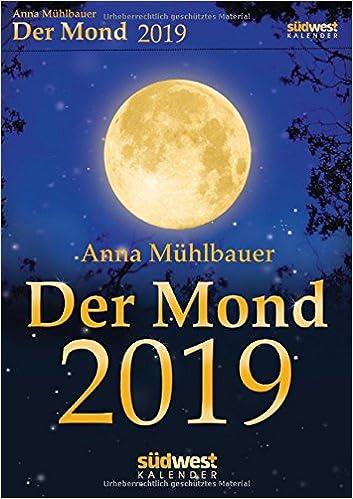Der Mond 2019 Tagesabreißkalender: 9783517096476: Amazon.com ...