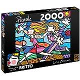 Romero Britto Love Blossoms Puzzle 2000 Pieces