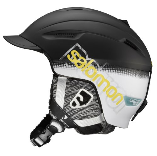 Salomon Patrol Custom Air Ski Helmets (Black Matt, Large), Outdoor Stuffs